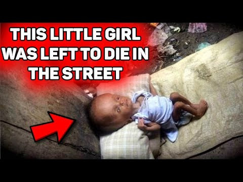This baby was LEFT on the street to die, but fate gave her a second chance!